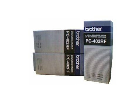 兄弟(Brother)PC-402RF 黑色 碳带(适用机型Brother 1280/1980MC 2卷/盒)