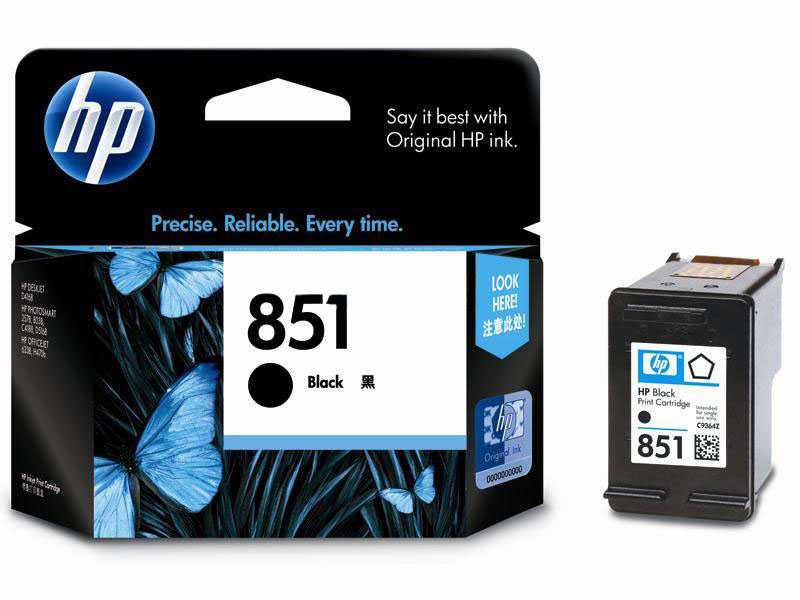 惠普851 黑色 墨盒