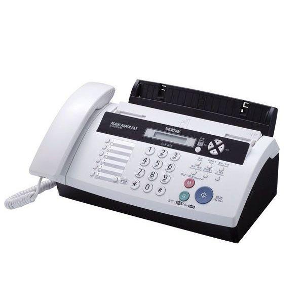Brother / 兄弟 兄弟(BROTHER) FAX-878色带传真机(英文液晶,25页无纸接收)