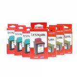 利盟10N0217 17黑色低容墨盒(2支装)