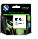 惠普(HP)CC643ZZ 818号 彩色墨盒(适用Deskjet D1668 D2568 D2668 D5568 F4238)