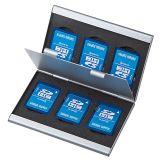 日本SANWA SUPPLY FC-MMC5SD SD卡专用收藏盒