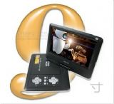 先科 SA-1012D 移动DVD 9寸便携式EVD 电视+游戏 2012年新款
