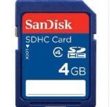 SanDisk(闪迪)4G SDHC 存储卡(Class4)