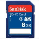 SanDisk(闪迪)8G SDHC 存储卡(Class4)