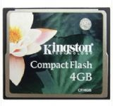 金士顿(Kingston)CF卡 4G