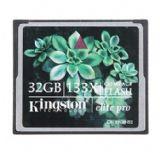 金士顿(kingston)133X 32GB CF存储卡(CF/32GB-S2)